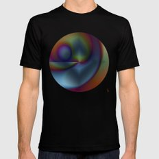 Graphical Expression III MEDIUM Mens Fitted Tee Black
