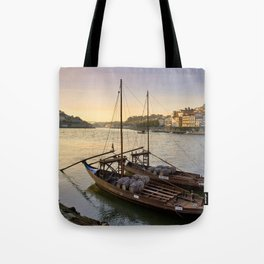 Oporto sunset,  Portugal Tote Bag