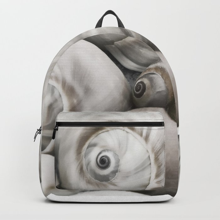 Shark's eye shell collection Backpack