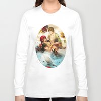 iwatobi Long Sleeve T-shirts featuring Arabian merman by Boisson