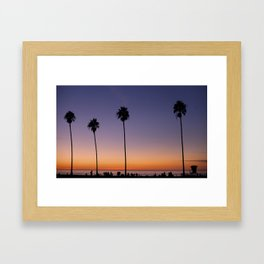 Autumn in La Jolla Framed Art Print