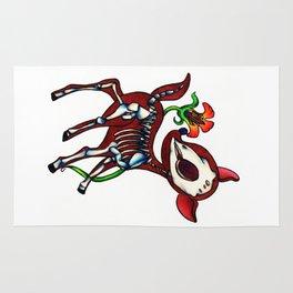 Deer Skeleton Rug