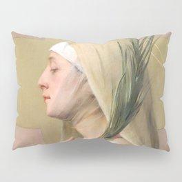 Saint Thecla Catholic Religious Art Pillow Sham