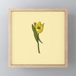 tip-toe through the tulips Framed Mini Art Print