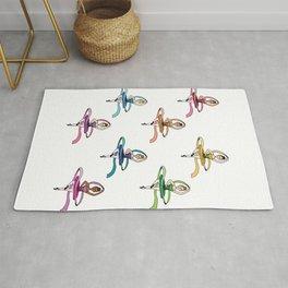 Spinning Ballerinas Rug