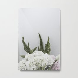 for the love of flowers 3 Metal Print