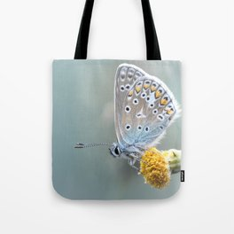 Composition in Yellow and Blue....  Tote Bag