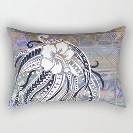Hawaiian incandesent tribal threads Rectangular Pillow