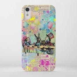 Tea Party Celebration - Alice In Wonderland iPhone Case