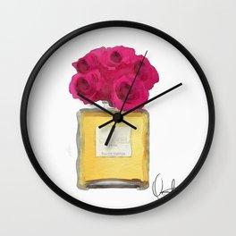 EAU DE PARFUM V.2 Wall Clock