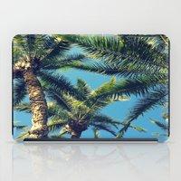 palm tree iPad Cases featuring Palm Tree by Jillian Stanton