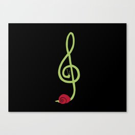 THE LISTENING Canvas Print
