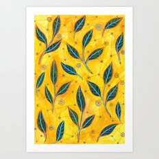 connected to nature Art Print