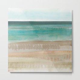 Jade seascape Metal Print