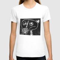 skeleton T-shirts featuring Skeleton by Hadar Geva