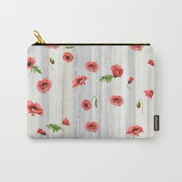 Poppies, Poppies Everywhere Carry-All Pouch