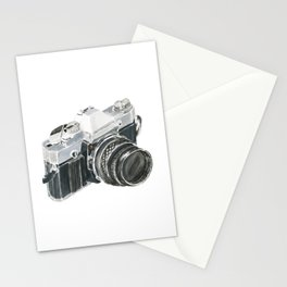 35mm film camera Stationery Cards