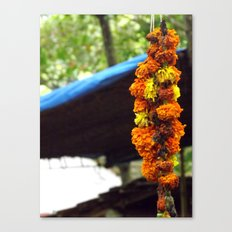Indian Flowers Canvas Print