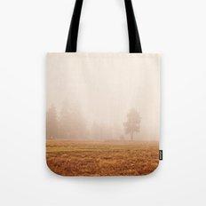 Morning Fog Tote Bag