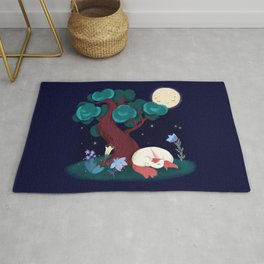 Bedtime Sweet Dreams For All Magical Creatures Rug