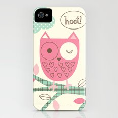 Hooty Owl iPhone (4, 4s) Slim Case