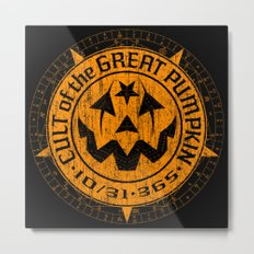 Cult of the Great Pumpkin: Alchemy Logo Metal Print