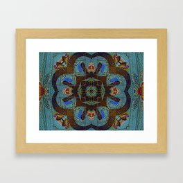 """""""how?"""" collapsed into itself Framed Art Print"""