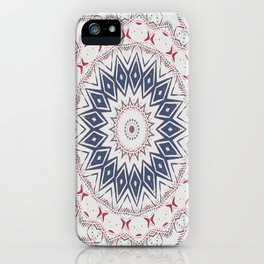 Dreamcatcher Berry & Blue iPhone Case