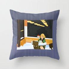 Automat by Hopper Throw Pillow