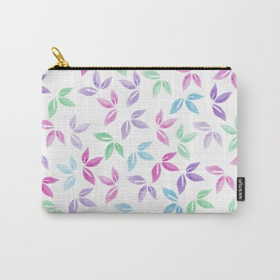 Flower Pattern VII Carry-All Pouch