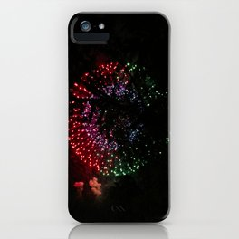 Fire Flower Fireworks iPhone Case