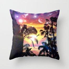 eveningSun Throw Pillow