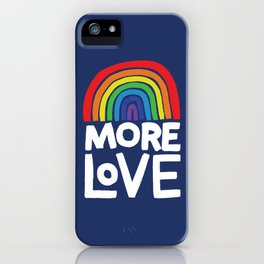 more love iPhone Case