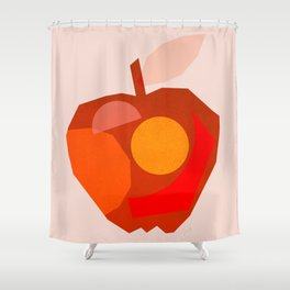 Abstraction_APPLE Shower Curtain