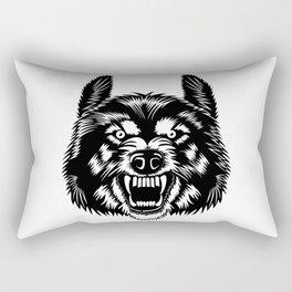 Big Bad Wolf Rectangular Pillow