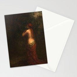 Henri Fantin-Latour - La ninfa Stationery Cards