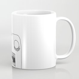 Hole in Head Coffee Mug