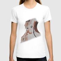 violin T-shirts featuring violin by Anja Kidrič AdAk