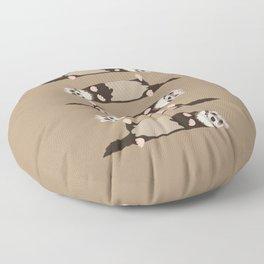 ferrets Floor Pillow