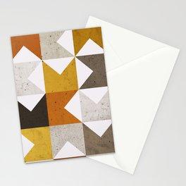 Mid Century Geometric 21 Stationery Cards