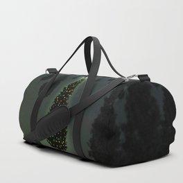 Christmas Tree Green Duffle Bag