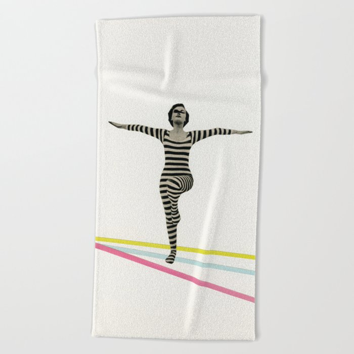 The Bold and the Bright Beach Towel