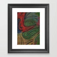 Free Flow Framed Art Print