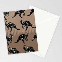 ChocoPaleo: Parasaurolophus Stationery Cards