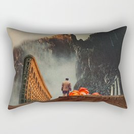 My Worlds Fall Apart Rectangular Pillow