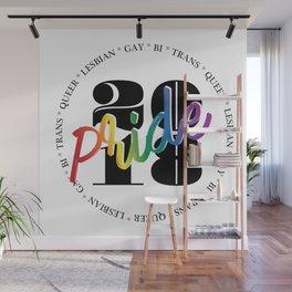 LGBTQ PRIDE 18' Wall Mural