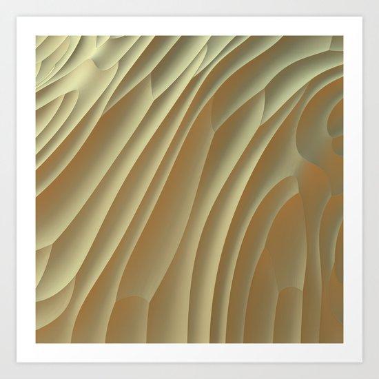 Buttercream Art Print