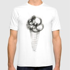 GELATO Mens Fitted Tee White SMALL