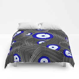 Swerve Evil Eye Comforters