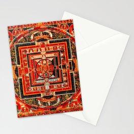 Mandala Manjushri Bodhisattva Transcendent Wisdom Stationery Cards